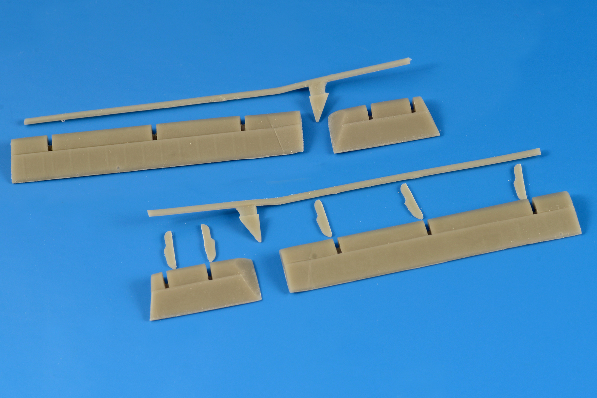 F6F Hellcat flap down set