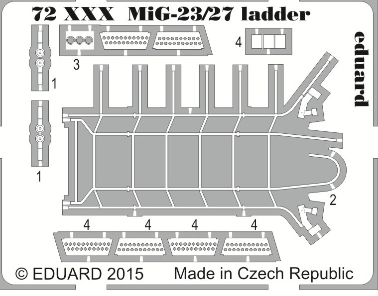 MiG-23/27 ladder - SOLD OUT