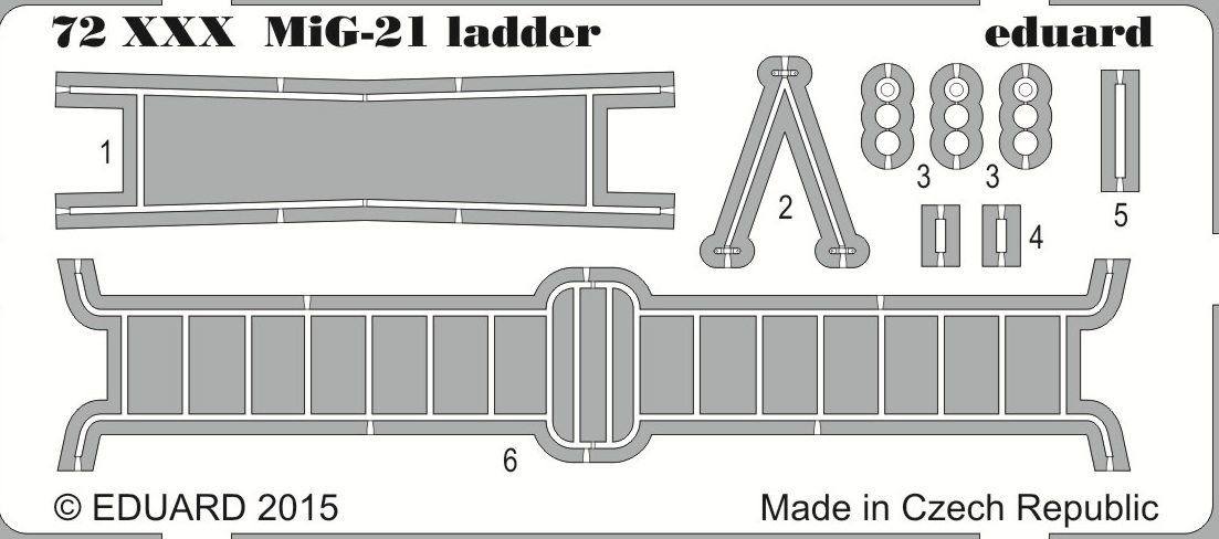 MiG-21 ladder - SOLD OUT