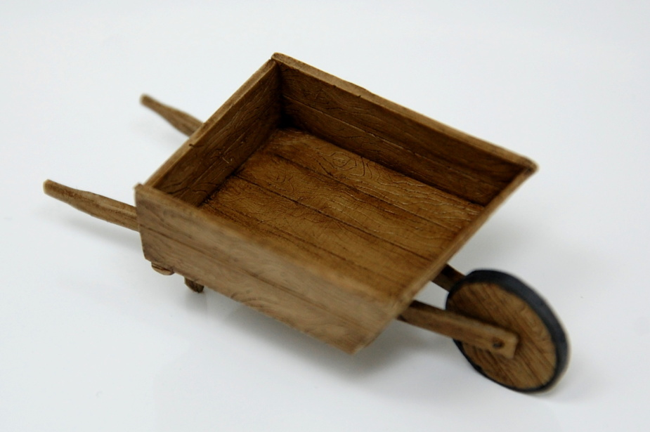 Wooden farmers cart