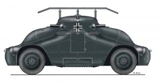 "ŠKODA PA-II ""Želva"" German radio version"